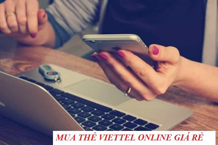 Bật mí thông tin về cách mua thẻ cào viettel online