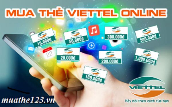 Mua thẻ viettel online giá rẻ như thế nào?