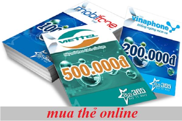 Mẹo mua thẻ online bằng tài khoản ngân hàng
