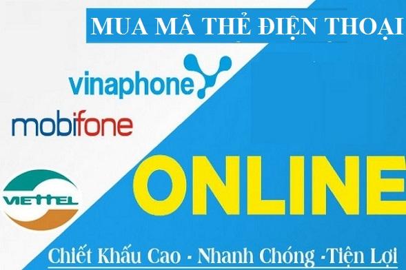 Lợi ích của việc mua mã thẻ điện thoại online tại muathe123.vn