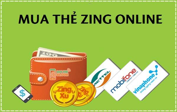 Hướng dẫn nhanh cách nạp xu bằng mua thẻ zing online