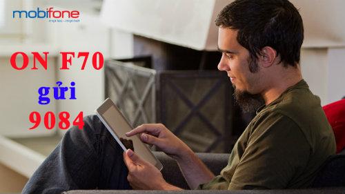 Cách đăng kí gói F70 mobifone nhận ngay ưu đãi lớn nhất