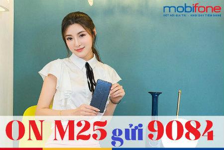Hướng dẫn nhanh cách đăng kí gói M25 Mobifone nhanh nhất