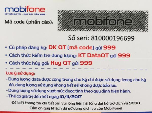 Tìm hiểu thông tin thẻ cào Mobifone có bao nhiêu số hiện nay?