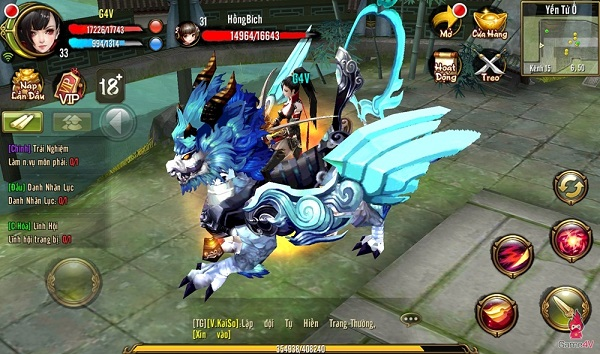 Thiên Long Bát Bộ 3D Mobile  chiến trường mới cho các game thủ hiện nay