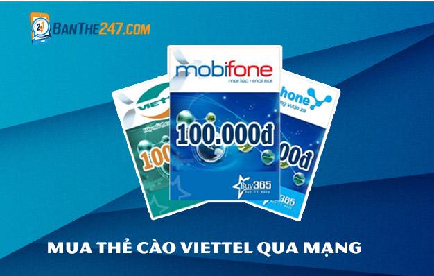 Mua thẻ Viettel online tại Banthe247.com