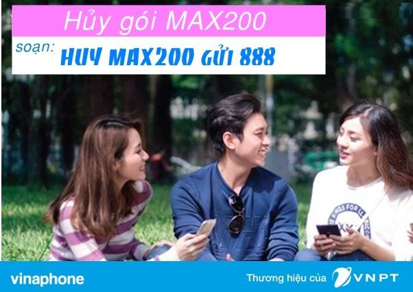 Cách hủy gói cước Max200 Vinaphone nhanh nhất bạn không ngờ tới
