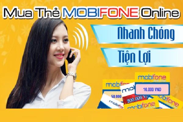 Hướng dẫn khách hàng mua thẻ cào mobifone online