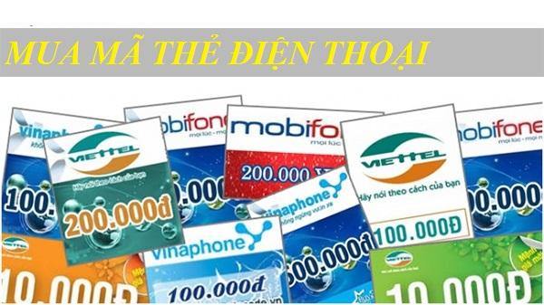 Cách mua mã thẻ điện thoại giá tốt nhất tại muathe123.vn