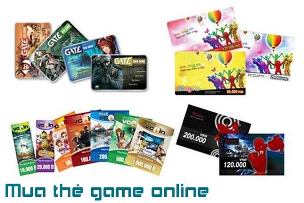 Mua thẻ game online thần tốc nhận ngay mã thẻ trong vài phút
