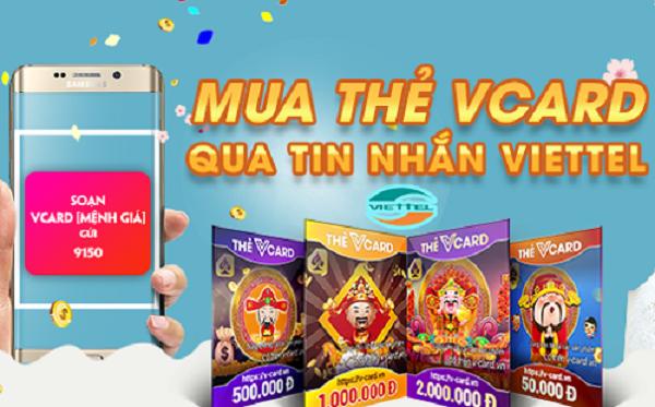 Cách mua thẻ game bằng tiền điện thoại mạng Viettel, Mobi, Vina