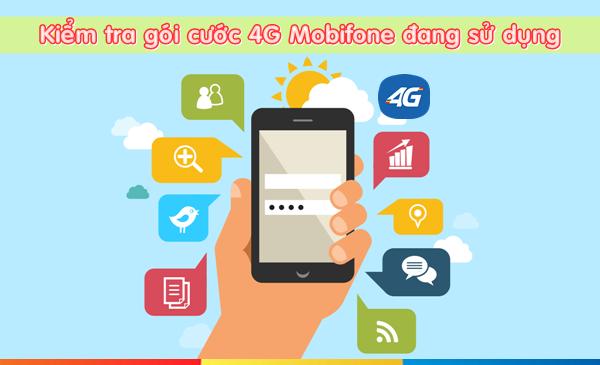 Cách kiểm tra tên gói cước 4G Mobifone đang sử dụng