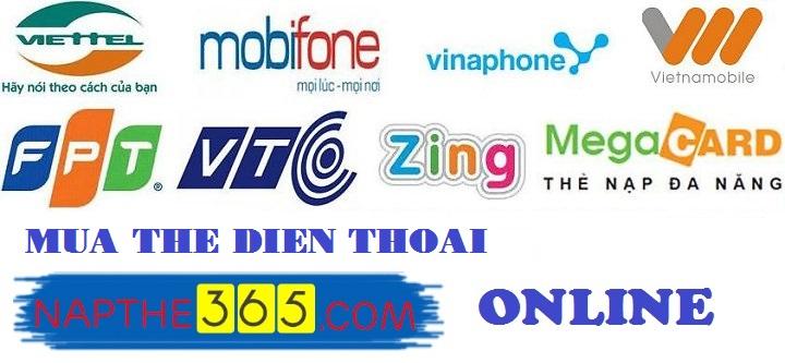 Mách bạn cách mua thẻ điện thoại online tại napthe365.com
