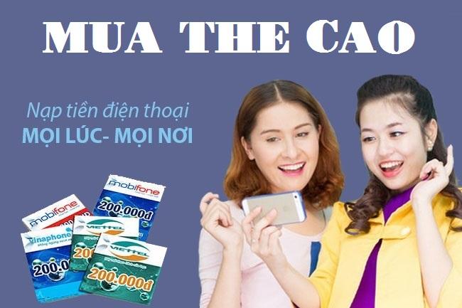 Mẹo mua thẻ cào online nhận ngay mã thẻ trong 3 đến 5 phút