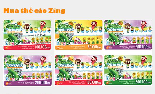 Các hình thức mua thẻ cào Zing phổ biến hiện nay