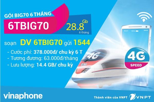 Hướng dẫn cách đăng kí gói 6TBIG70 Vinaphone tiện lợi nhất