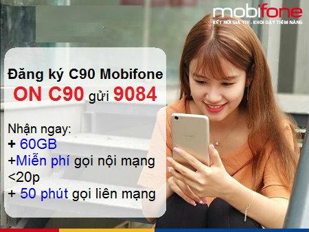 Nhận ngay 120GB khi đăng kí thành công gói C90 Mobifone