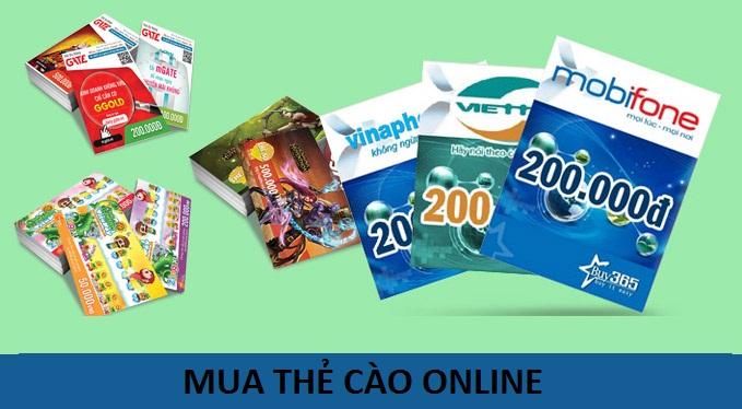 Hướng dẫn nhanh khách hàng  mua thẻ cào online rẻ nhất