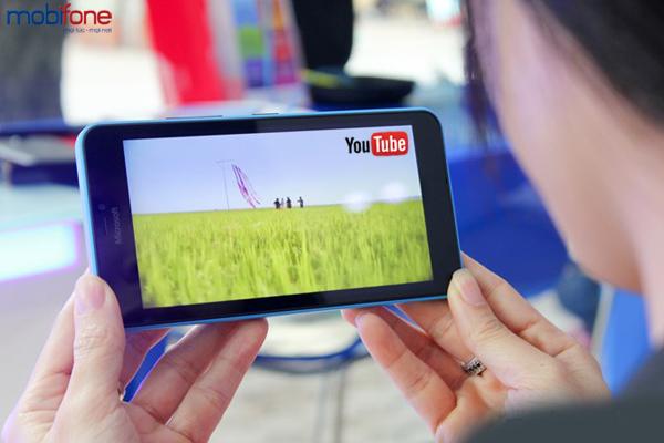 Đăng kí gói MY mobifone thoải mái xem youtube mỗi ngày