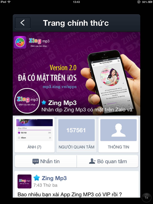 Bật mí cách đăng kí gói 3G Zing Viettel thoải mái nghe nhạc miễn phí