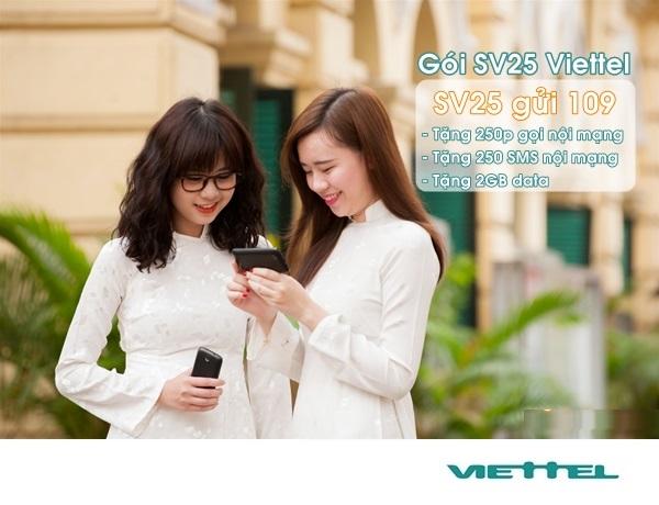 Những thông tin cần biết về gói SV25 Viettel hiện nay