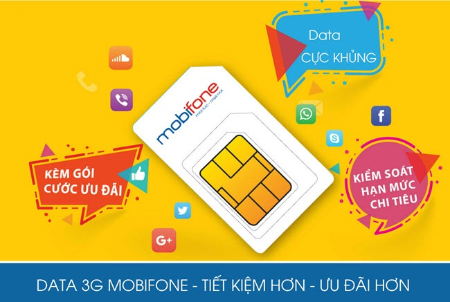 Hướng dẫn mua thẻ cào data 3G Mobifone siêu nhanh