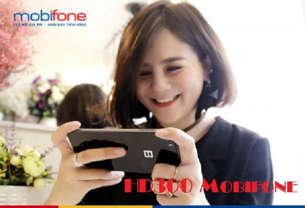 Bật mí cách nhận ưu đãi từ gói HD300 Mobifone