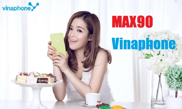 Cách nhận ưu đãi 2GB data từ gói cước MAX90 Vinaphone