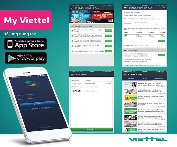 Kiểm tra tình trạng thẻ cào viettel chỉ trong giây lát qua ứng dụng My Viettel
