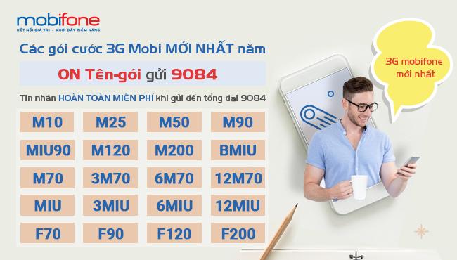 Tổng hợp những gói 3G mobifone phí 90k ưu đãi nhất hiện nay
