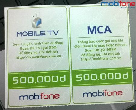 Cách xử lý sự cố thẻ cào Mobi 500k bị rách