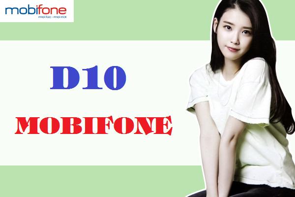 Chi tiết cách đăng ký gói cước D10 của Mobifone