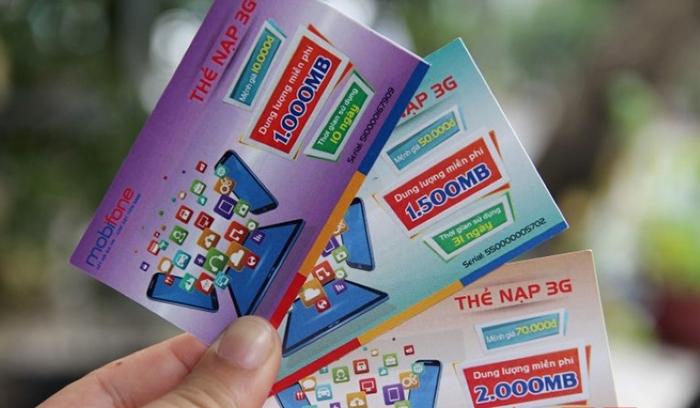 Thông tin chi tiết về thẻ cào data 3G Mobifone