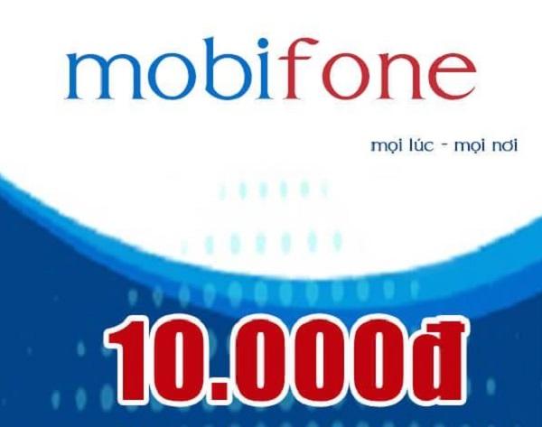 Cách mua thẻ điện thoại Mobifone 10k online nhanh nhất