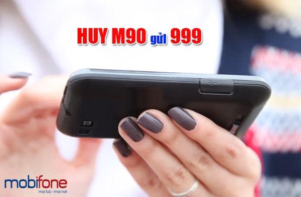 Hủy gói M90 mobifone đơn giản chỉ qua vài thao tác