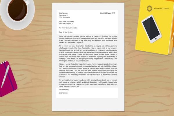 Cách viết cover letter chuyên nghiệp, ấn tượng bạn nên biết