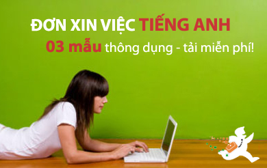 3 mẫu cover letter tiếng anh HOT nhất hiện nay