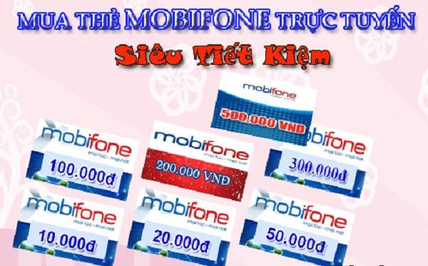 Mua card điện thoại Mobifone 100k chiết khấu hấp dẫn
