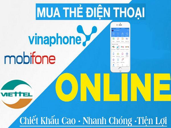 Cách mua thẻ điện thoại qua Internet Banking tại Napthe365.com