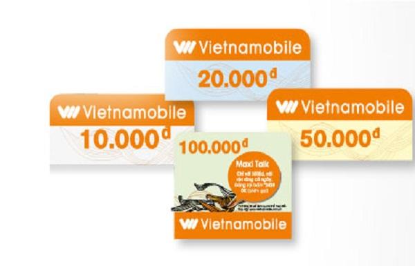 Mua card điện thoại Vietnamobile giá rẻ nhất thị trường