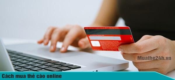 Cách mua thẻ điện thoại online giá rẻ nhất tại Muathe24h.vn