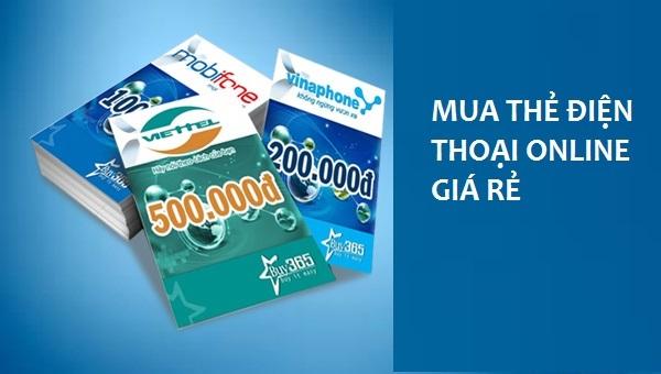 Cách mua thẻ điện thoại giá rẻ tại Muathe24h.vn