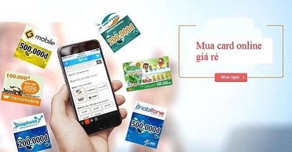 Các mức chiết khấu mua thẻ online tại Muathe24h.vn