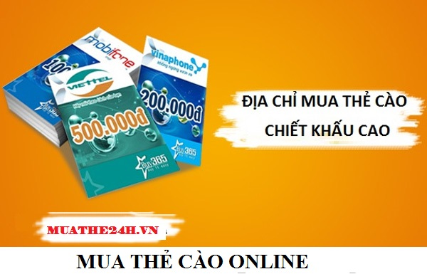 Những ưu điểm khi mua the cao tại Muathe24h.vn