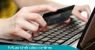 Phương thức thanh toán khi mua thẻ cào online