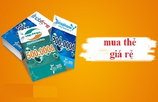 Mách bạn cách mua thẻ cào Viettel, Vina, Mobi cùng lúc đơn giản nhất