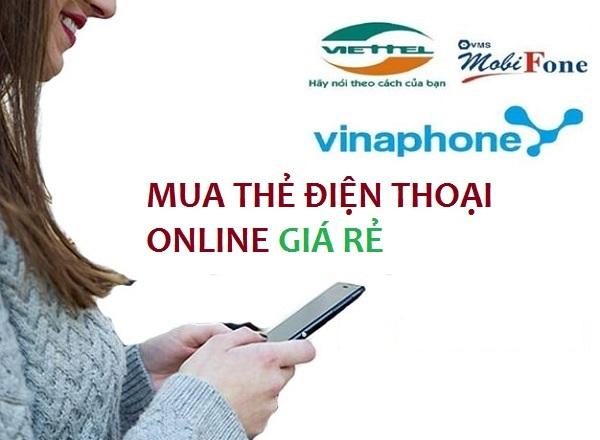 Bật mí cách mua thẻ điện thoại giá rẻ tại muathe24h.vn