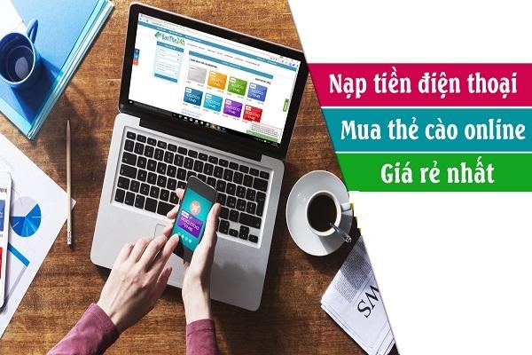 Hướng dẫn mua thẻ cào online trên Muathe24h.vn giá rẻ