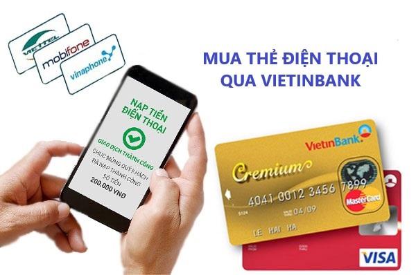 Cách mua card điện thoại Mobifone đơn giản qua thẻ ATM
