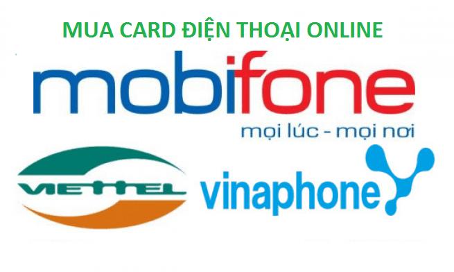 Hướng dẫn mua card điện thoại online tại banthe247.com
